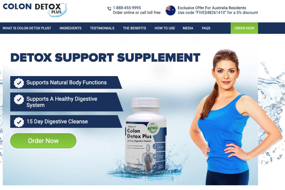 Colon Detox Plus in Canada
