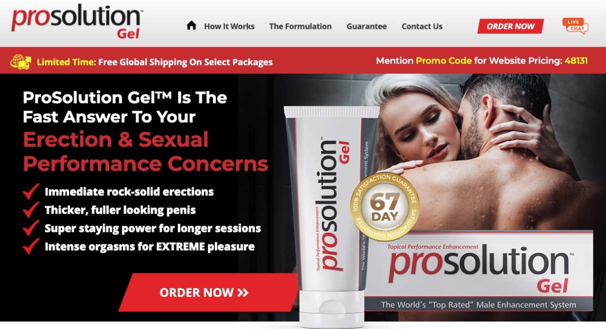 Prosolution Gel in Canada