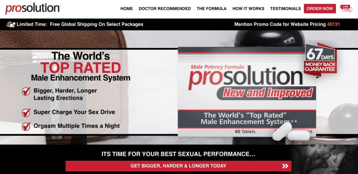 Prosolution Pills in Canada