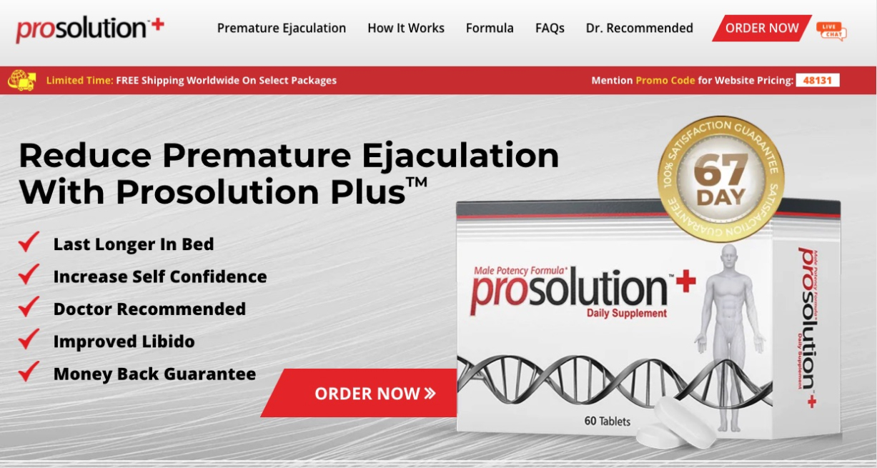 Prosolution Plus in Canada