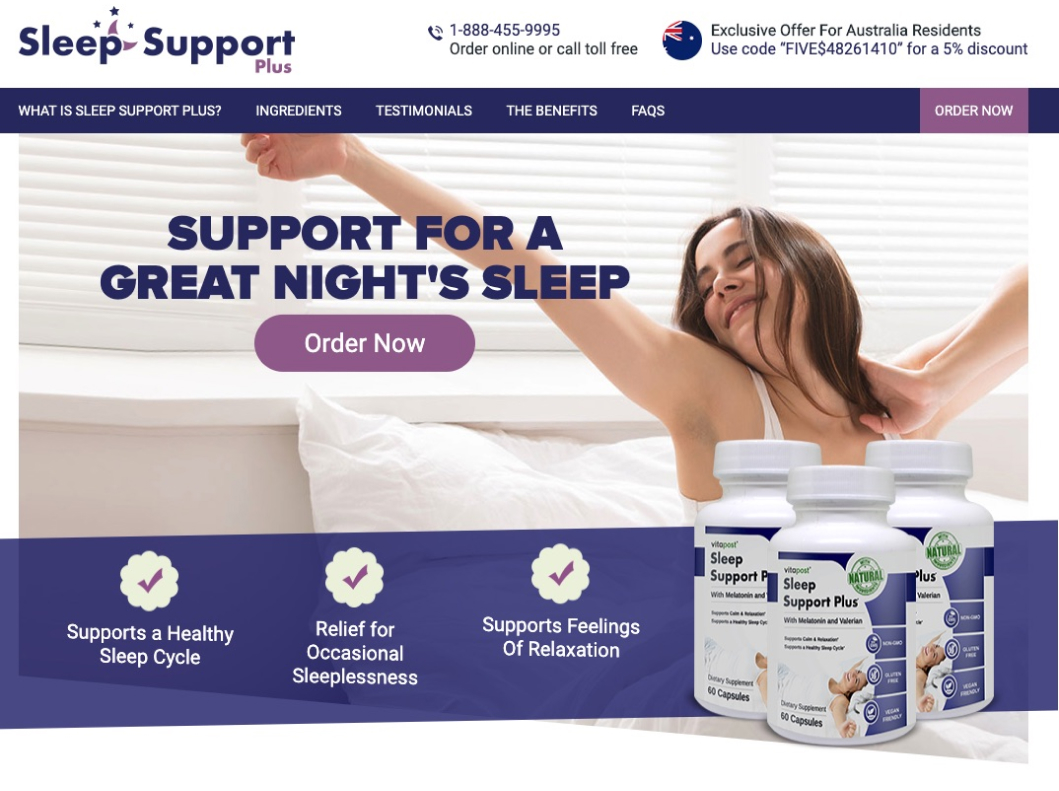 Sleep Support Plus in Canada